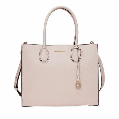 Michael Kors Mercer Large Bonded Leather Tote - Choose color