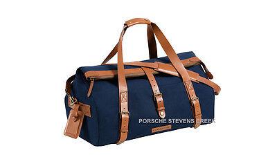 Porsche Classic Collection Weekender Bag Carry On Travel Luggage Shoulder Bag