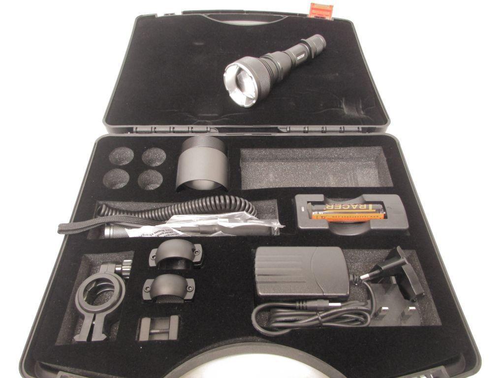 Traceur Ledray F900 ir vision de nuit led pistolet lumière lumière lumière projecteur lampe torche LR3620 b70cd1
