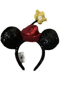 Disney Parks Mickey and Minnie Runaway Railway Ear Hat Headband Ears