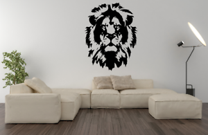 Lion King Of The Jungle Animal Transfer Sticker Decal A41