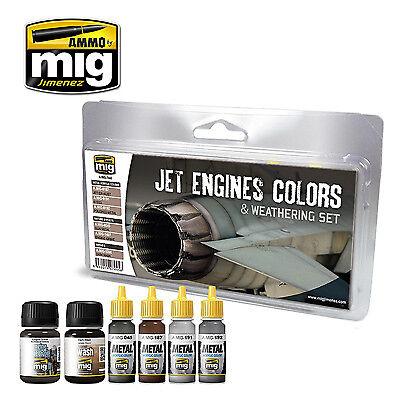 Obbiettivo Munizioni Da Parte Di Mig-jet Engine Colori E Agli Agenti Atmosferici Set # Mig-7445-mostra Il Titolo Originale