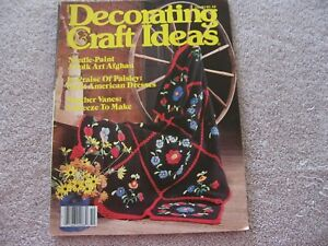 Details About Decorating Craft Ideas Magazine October 1981