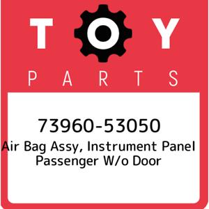 73960-53050-Toyota-Air-bag-assy-instrument-panel-passenger-w-o-door-7396053050