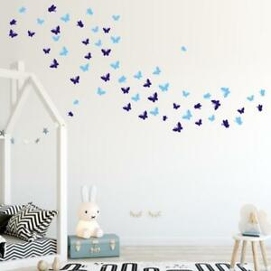 Image Is Loading AU Butterfly Home Decor Wall Sticker Decal Bedroom