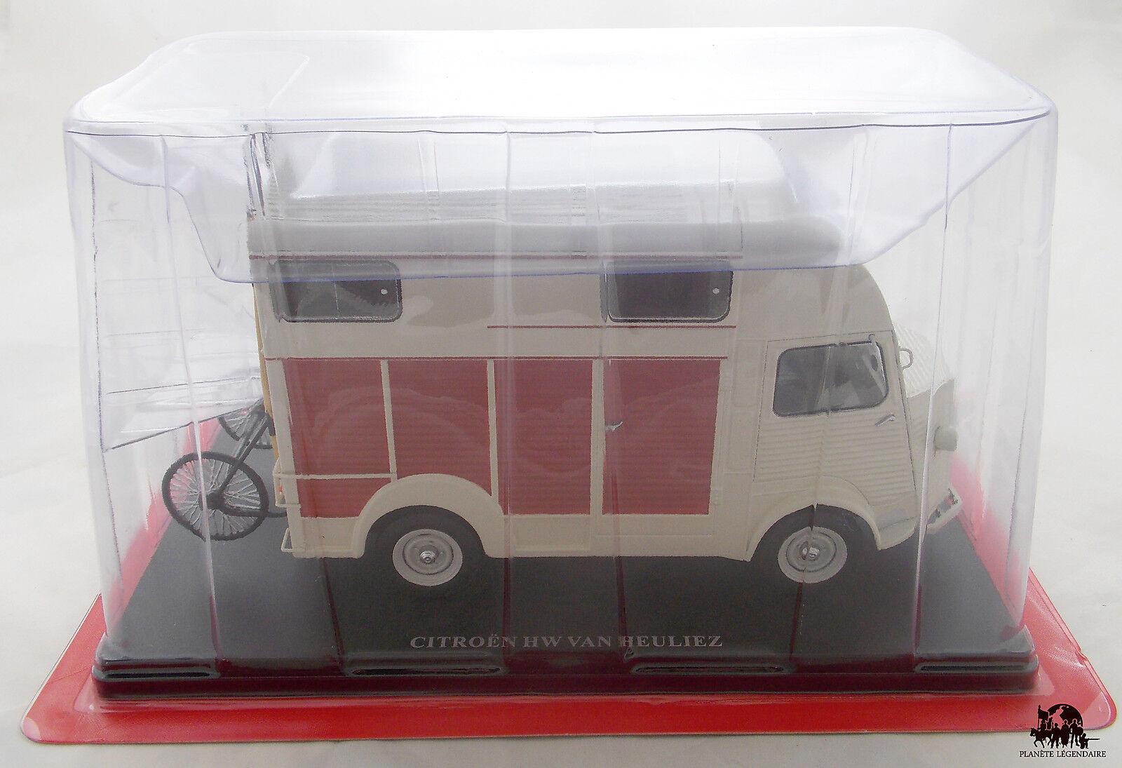 Miniature IXO Echelle 1 24 Fourgon CITROEN Type H Van Heuliez 1958 Diecast Metal