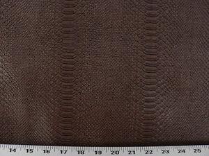 Vinyl Upholstery Fabric Expanded Back Textured Vinyl Snake Skin