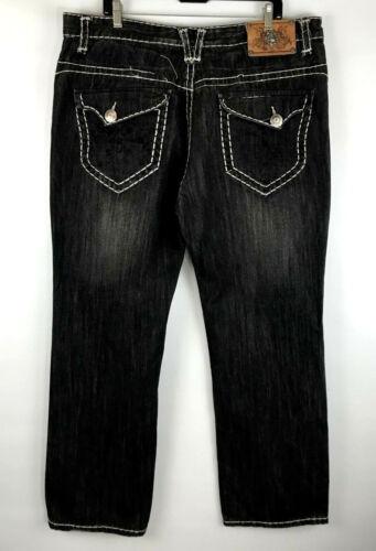 denim Collection en noir Jeans Kanji rxqvwqtY