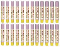 24 Pack Burt's Bees Lip Shimmer Lipstick, Guava 0.09 Oz Each on sale