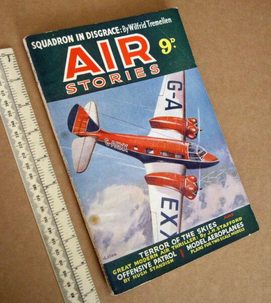 1938 Vintage Air Histoires V6#6 Skybirds Aeromodelling James Hay Stevens Mr.1/72