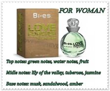 b884c2a8f6 Bi Es Eau de Parfum LOVE FOREVER GREEN for WOMEN - Fruty- Floral Frafrance  100ml