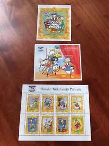 """Topical Stamps Maldives 1994 Disney """"donald Duck's Family Portraits"""" Stamp Set Mnh As Effectively As A Fairy Does"""