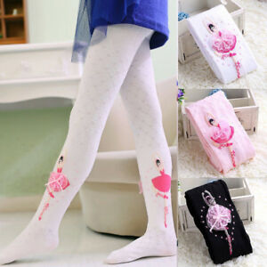 e1d7681d8f0bb Toddler Infant Baby Girls Kids Ballet Dance Tights Pantyhose Hosiery ...