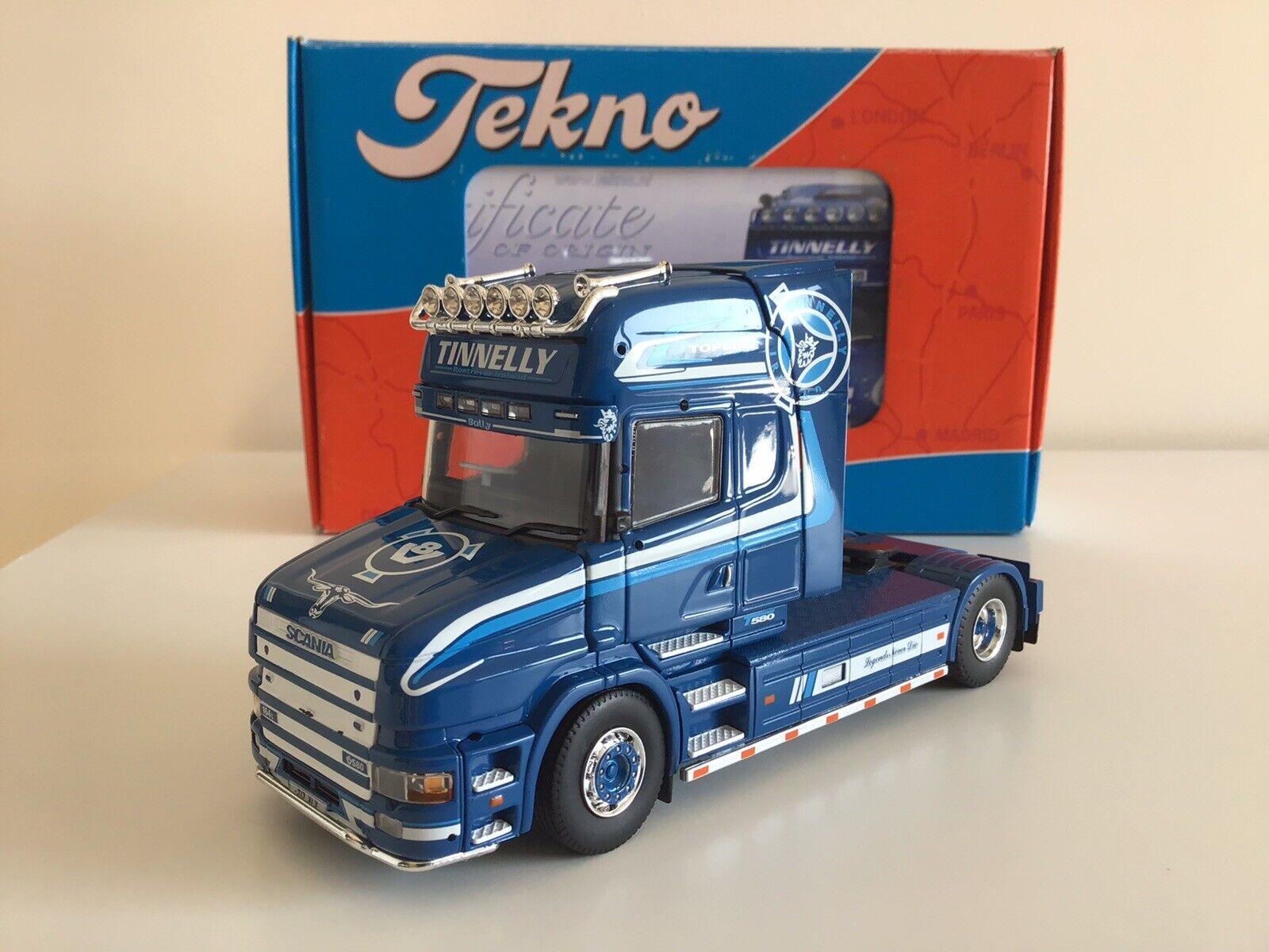 Tekno Scania T Cab Topline Tinnelly Tractor Unit