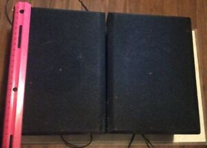 Details about Pair Full Range Stereo Speakers 9 X 6