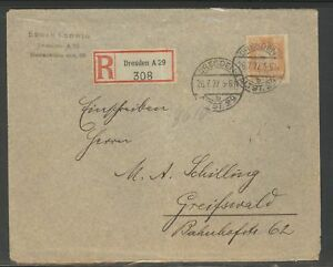 Germany-Postal-Cover-Dresden-1927