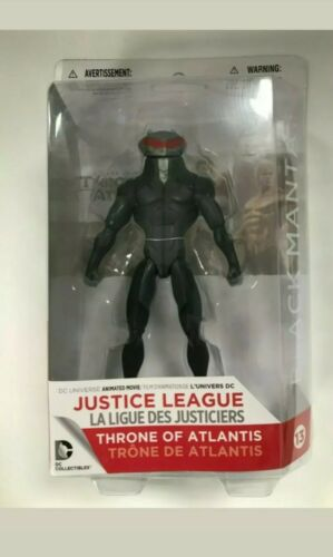 DC Collectibles JUSTICE LEAGUE TRONO DI ATLANTIDE BLACK MANTA Action Figure Nuovo