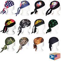 Skull Cap Tie Back Beanie Hat Du Do Doo Rag Skullcap Skully 12 Designs To Choose