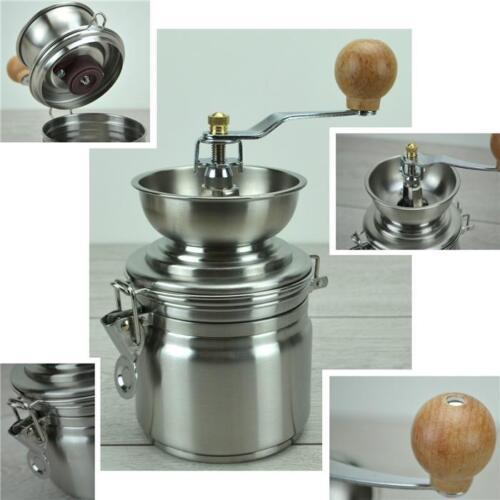 kaffeemühle mühle edelstahl kaffee espressomühle retro handkaffeemühle manuelle