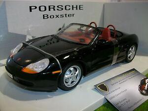 Porsche 911 Boxster Cabriolet Noir Au 1/18 Ut Models 27853 Voiture Miniature