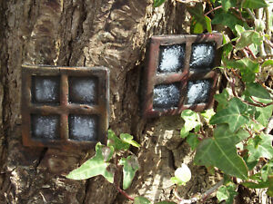 Pair-of-Stone-Fairy-Windows-Square-Design-Perfect-to-accompany-your-fairy-door-o