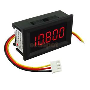 DC-3-5-30V-Mini-5-Digit-Digital-Red-LED-Voltmeter-Volt-Meter-Panel-Car