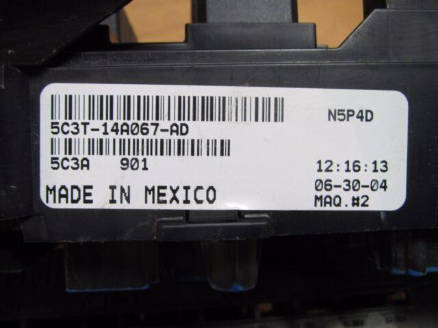 5C3T 14A067 AD Ford OEM Fuse Panel Box 2005 F250 F350 F450 F550 Excursion    eBayeBay