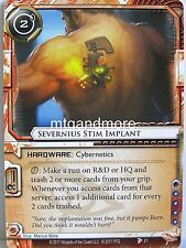 Android Netrunner LCG - 1x #021 Severnius Stim Implant - Station One