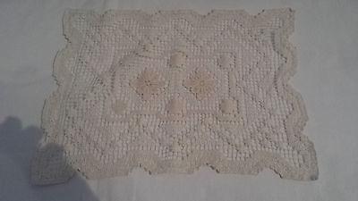 1 Deckchen Handarbeit 30 X 23 Cm Beige Sparen Sie 50-70%