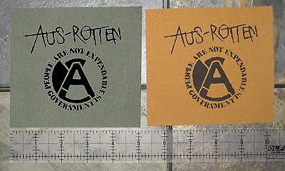 CRASS DIY Patch Amebix Anti Cimex Phobia Antisect Crust Punk Disrupt Doom Filth