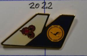 an2022 Flugzeuge & Airlines Sammeln & Seltenes Nett Lufthansa Pin Badge 3,5 X 2 Cm