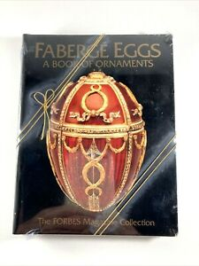 NEW Faberge Eggs A Book of Ornaments FACTORY SEALED with GOLD BOW