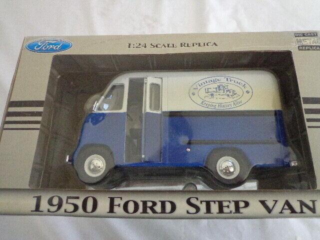 Nuevo En Caja corona Premium Joyas Colección 1 24 Diecast 1950 Ford Step van