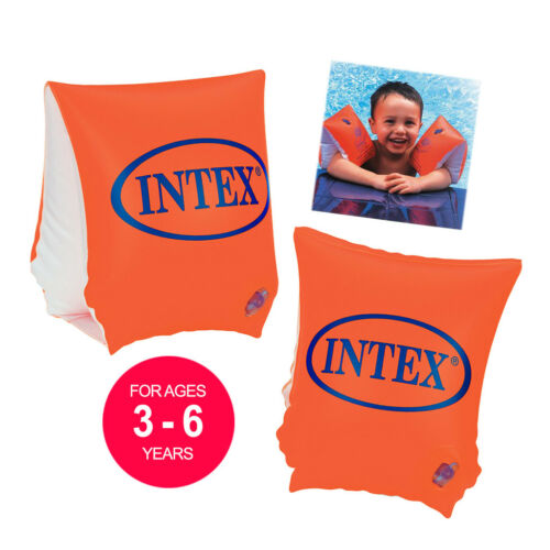Swimming Armbands Intex Baby Kids Childrens 3-6 Water Safety Swim Floating Aid