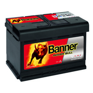 banner power bull autobatterie 12v 72ah p7209 starter. Black Bedroom Furniture Sets. Home Design Ideas