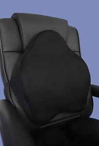 Viscoelástico Cojín de respaldo Espalda Cojín para silla de Oficina ...