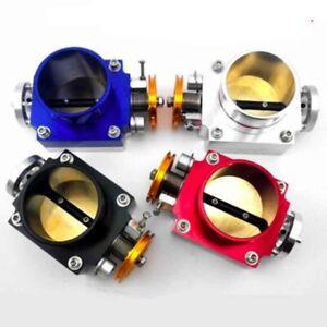 4-color-70MM-High-Flow-Intake-Aluminum-Manifold-Billet-Throttle-Body-Silver