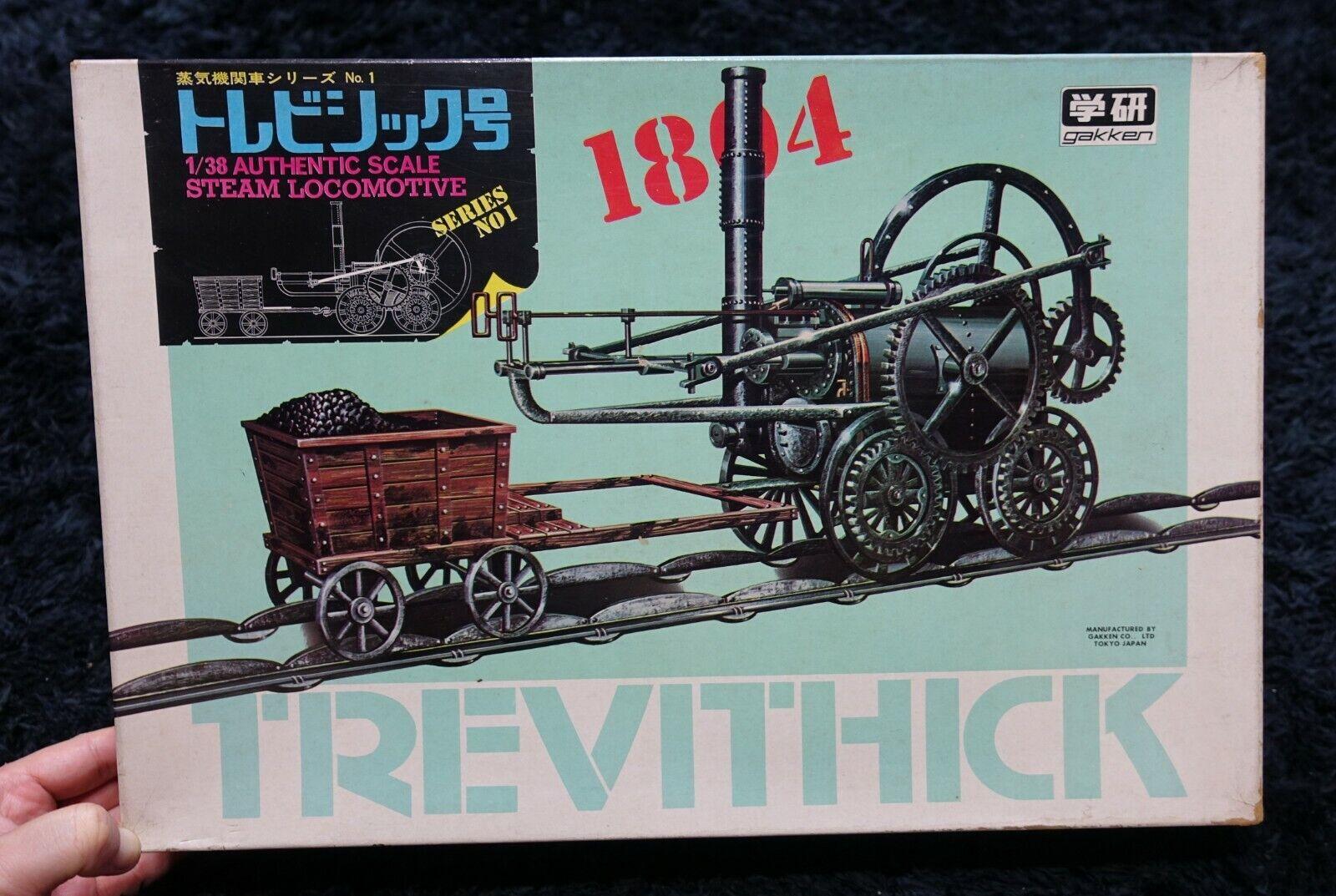 Ssquadra LOCAlottoIVE 1804 TREVITHICK 1 38 GAKKEN VINAGE modellolo KIT