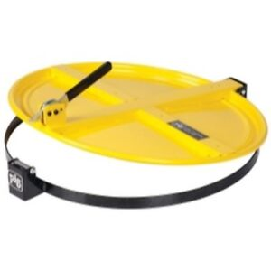 Details about PIG Latching Drum Lid for 55 Gallon Drum - Yellow  NPGDRM659-YW Brand New!
