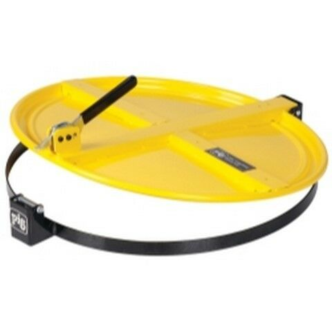 PIG Latching Drum Lid for 55 Gallon Drum - Yellow NPGDRM659-YW Brand New!