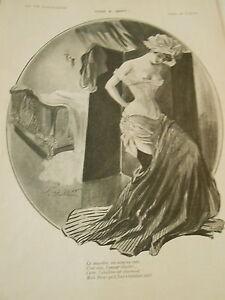 Cinq à Sept !! Ce Désordre Ces Seins Au Vent ! Print Art Déco 1908 Cmvjphwp-07181444-352155371