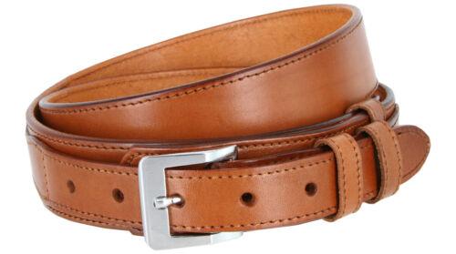 """Billet 1/"""" Buckle Black Brown Tan Ranger Smooth Leather Western Belt 1-1//2/"""""""