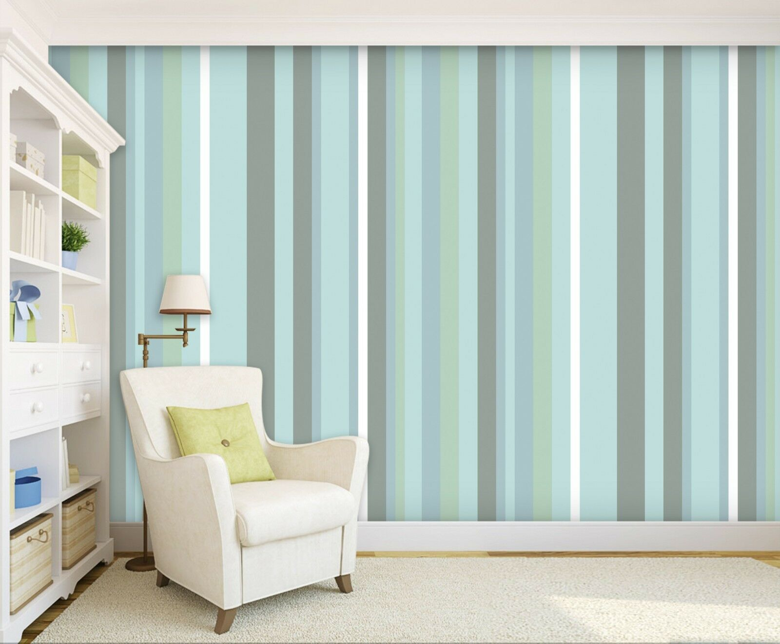 3D Lines Blau 026 WallPaper Murals Wall Decal WallPaper AU Summer