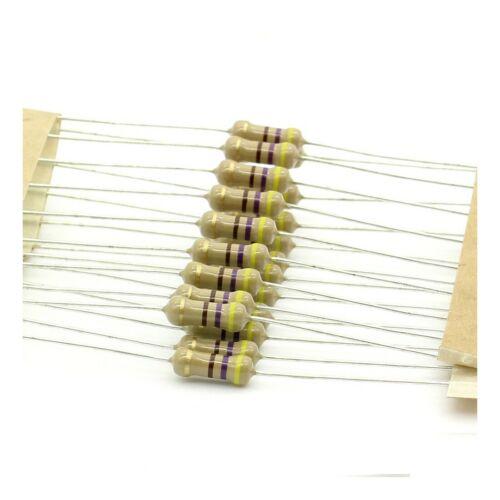 royal ohm 187res420 1//2w 5/% 20x carbon resistors 470ohm 0.5w