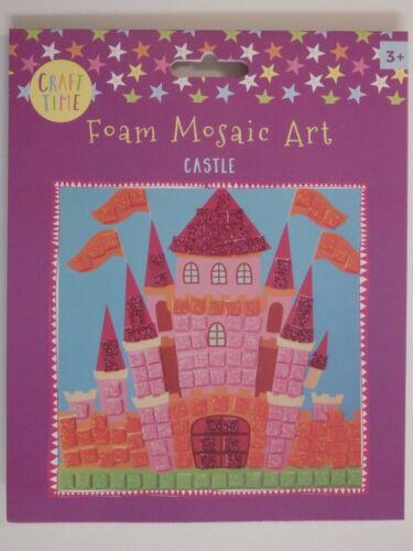 Craft Time Foam Mosaic Art Choice of 6