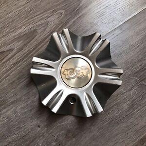 100+ Wheel 157 mm Center Hub Cup Emblem R611-Cap -1 Racing Dunamics Gitano Rare