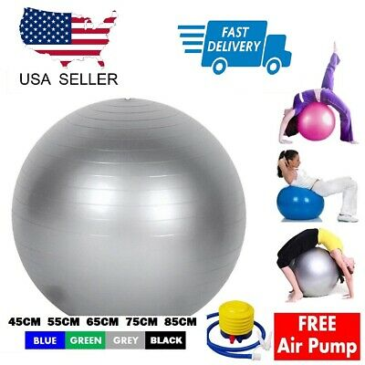 Yoga Ball For Child Youth Child Pregnancy Fitness Strength Exercise Workout 85cm Ebay