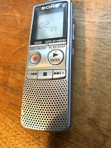Sony-ICD-BX700-Handheld-Digital-Voice-Recorder-288-Hours-1GB-Tested-Working