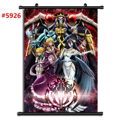 "Anime Overlord manga Wall Scroll Poster cosplay8/""x11/"""