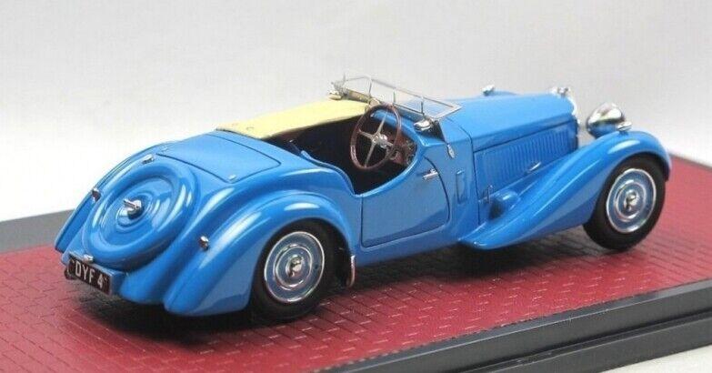 Matrix - Bugatti T57 S Corsica Roadster Malcom Campbell   57531 bleu  1 43  Dans votre attente